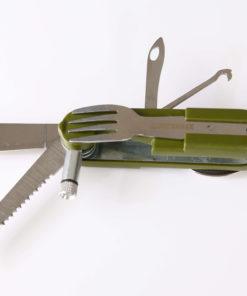couteau suisse survimax avec couteau fourchette et cuillere
